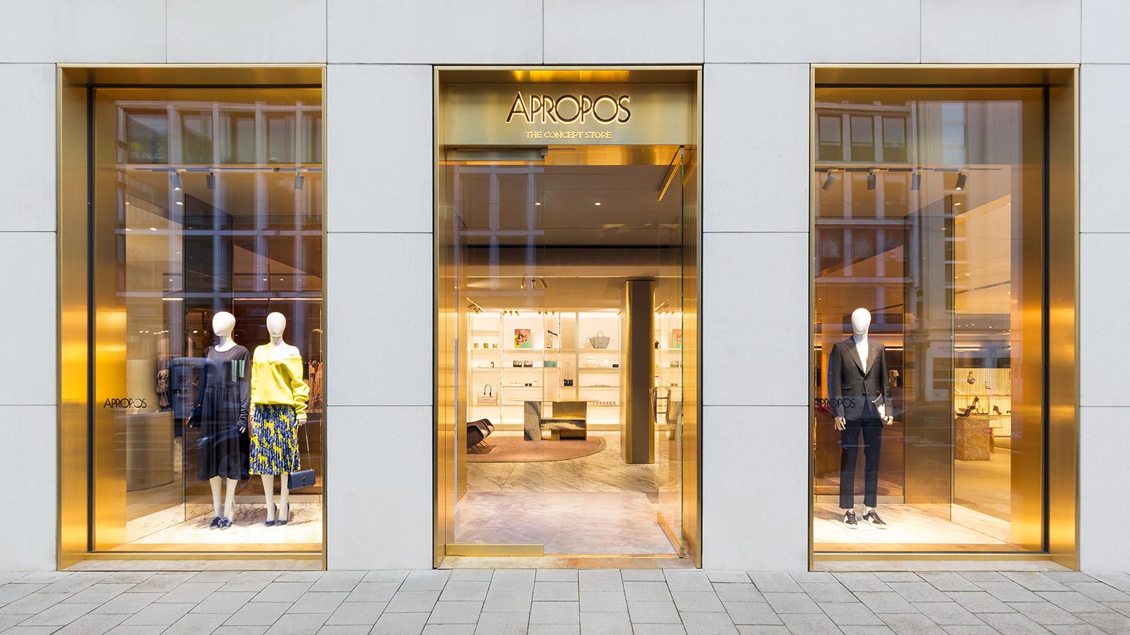 apropos Düsseldorf - Unzen Architektur Luxus-Store